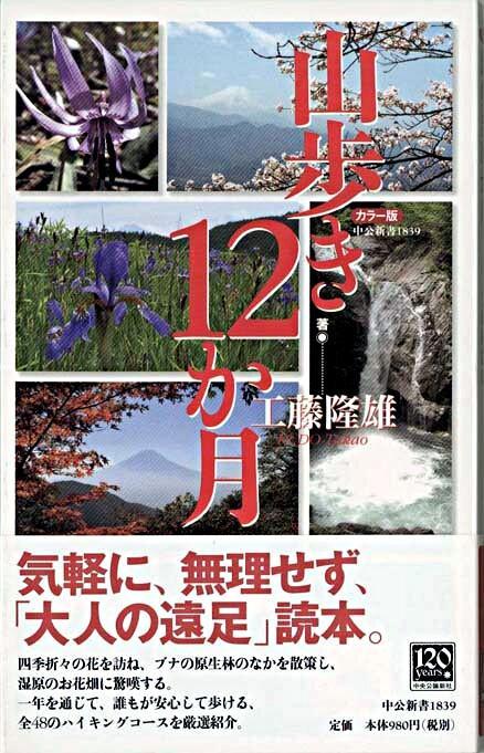 山歩き12か月 : カラー版 <中公新書>