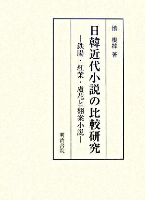 日韓近代小説の比較研究 : 鉄腸・紅葉・蘆花と翻案小説