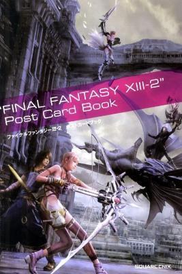 """ファイナルファンタジーXⅢ-2ポストカードブック """"Final Fantasy XⅢ-2"""" post card book"""